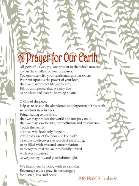 A prayer for our earth draft1